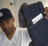 Denim designer Maurice Malone on American garment manufacturing & why it moved overseas