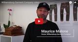 Denim designer Maurice Malone's new Williamsburg denim store video