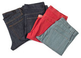 Superb colored hot weather jeans for summer