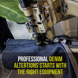 Professional denim alterations and repairs explained