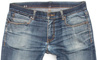 The beauty of stretch: exceptional comfort & great raw denim fades