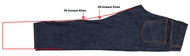 A detailed guide for hemming jeans and tapering them to perfection