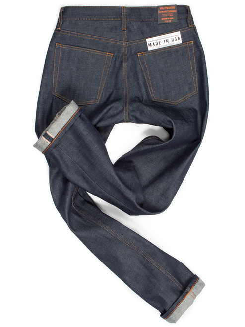 Japanese Selvedge Straight Leg American Raw Denim Jeans Williamsburg