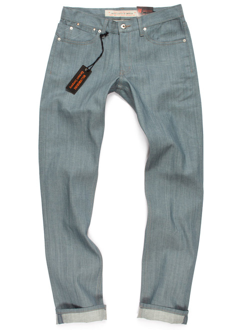 Colored jeans in Seafoam Green lightweight denim – Awesome summer pants for men.