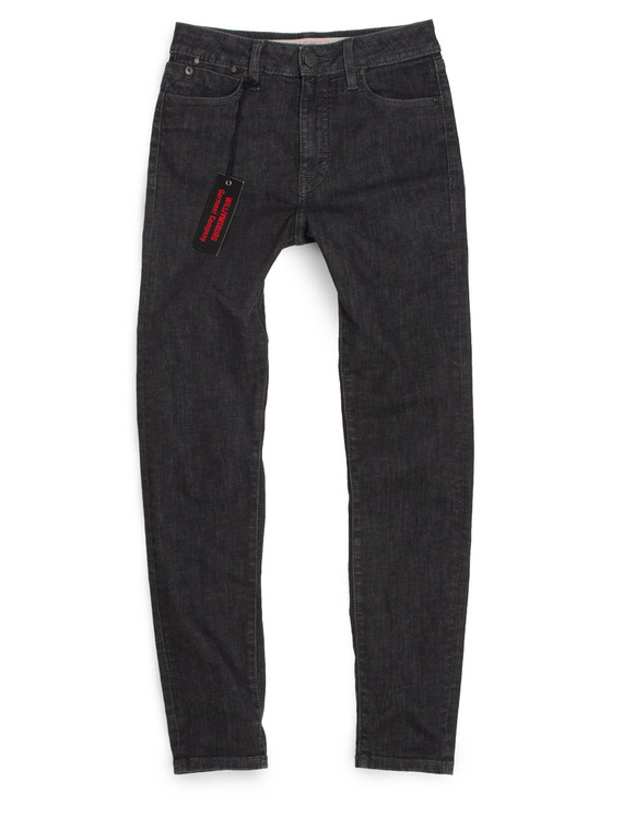 American made high waisted black skinny jeans for women