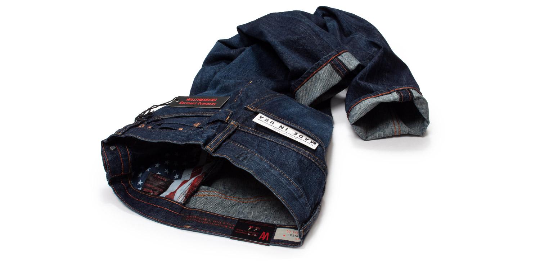 Williamsburg dark blue American made jeans