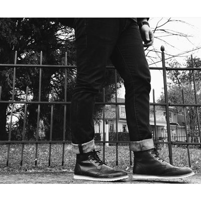@sego.genesis in raw denim jeans