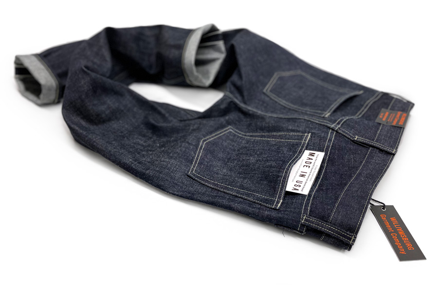 Heavyweight selvedge custom jeans made in USA by hand in Brooklyn, New York.