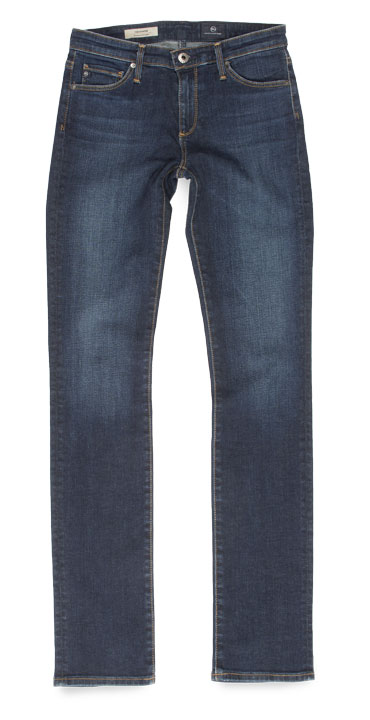 Adriano Goldschmied AG The Harper Skinny Mid-Rise Straight Leg Jeans