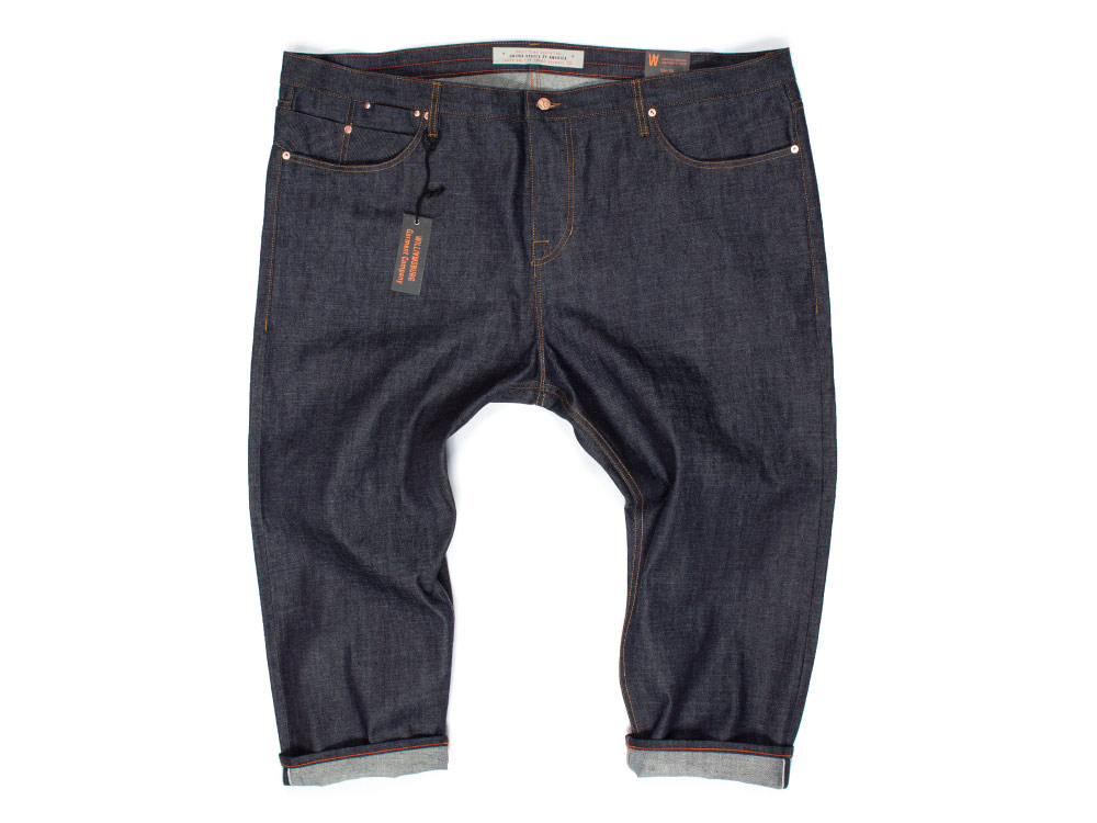 Raw Japanese selvedge size 50 waist custom bespoke jeans