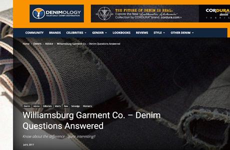 Denimology raw denim article