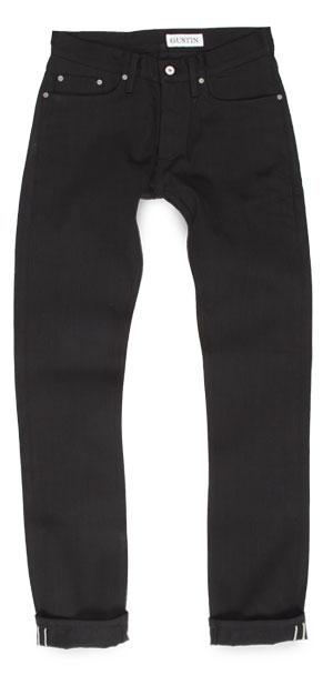 American made black Gustin skinny jeans