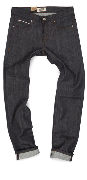 Naked & Famous raw denim Super Guy skinny fit jeans