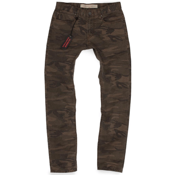 camouflage pants by Williamsburg Garment Co.
