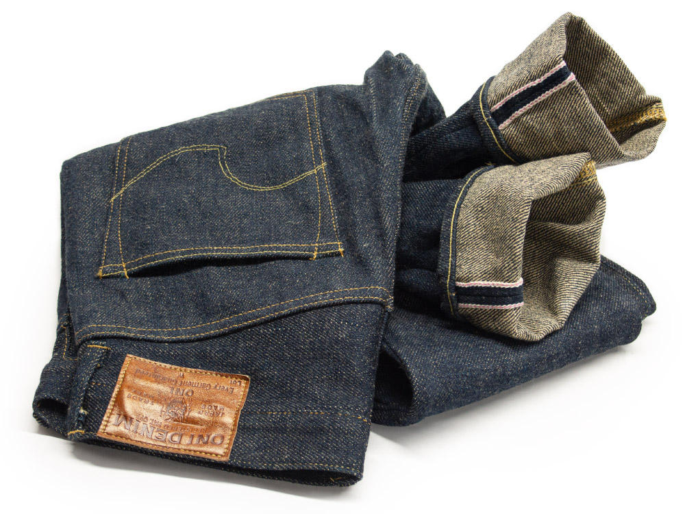 Oni Denim jeans before alterations