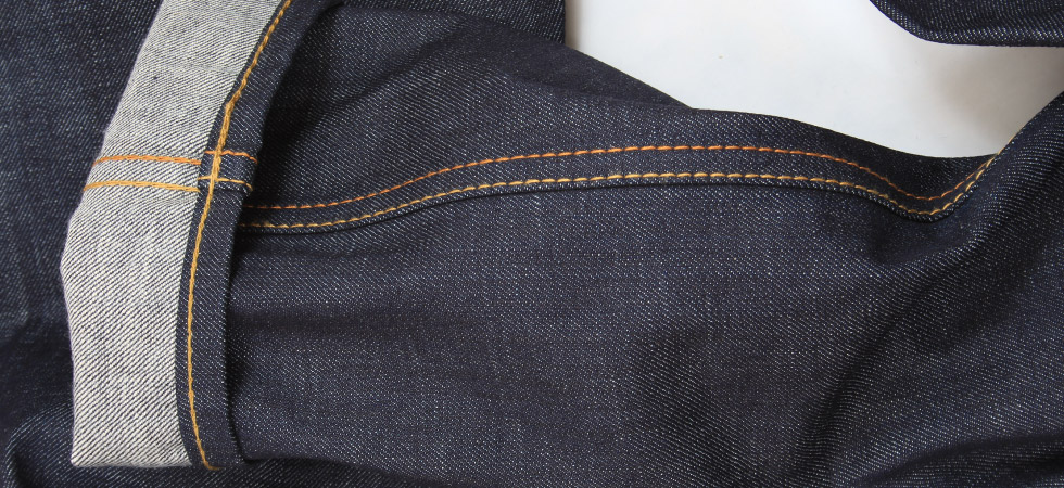 what is a lap seam on denim jeans