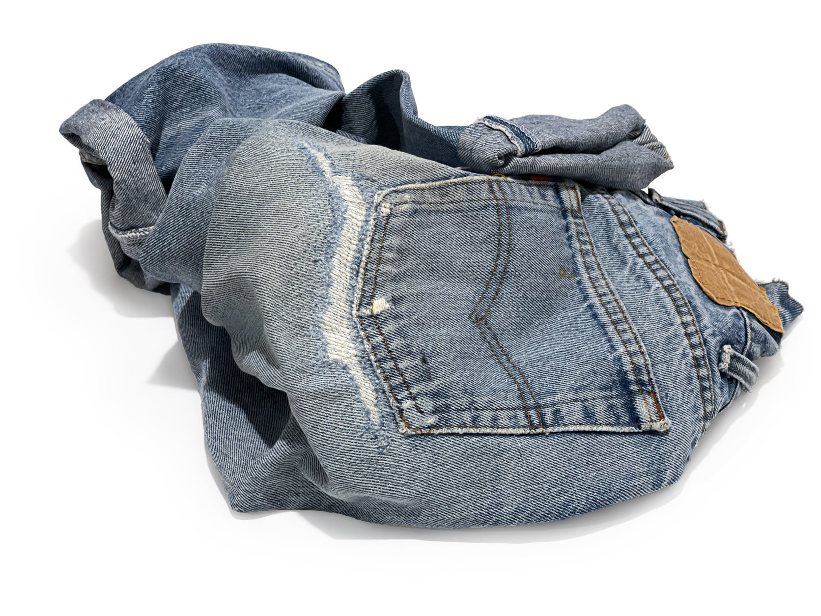 Shop denim repairs to fix rips and holes in jeans.