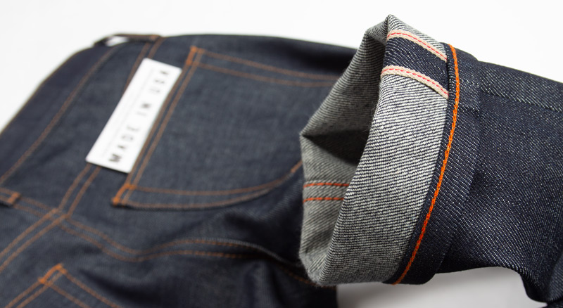 Close-up photo: What is raw denim & what is selvedge