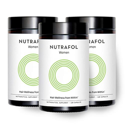 Nutrafol Women - 3 PACK (360 capsules)