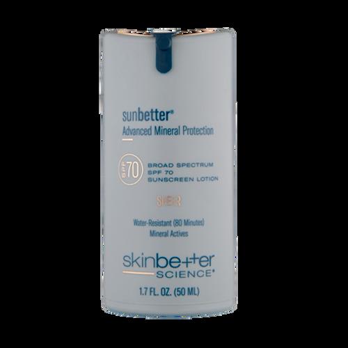 SunBetter Sheer SPF 70 Lotion
