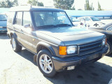 2002 Land Rover Parting Out By Specialized German Stock#16058