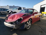 2002 Porsche Boxster parting out by Specialized German Stk#21246
