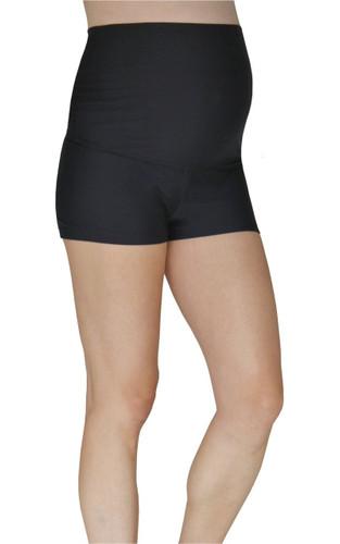 24a12fa718 Maternity Boy Shorts - Black - Mermaid Maternity