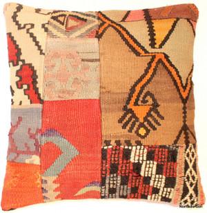 Vintage kilim cover - small #67