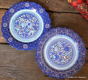Samur classic ornate edge plates - 25cm