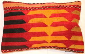 Vintage kilim cover rectangle (40*60cm) #KR42
