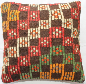 Tiny Kilim Cushion Cover #8