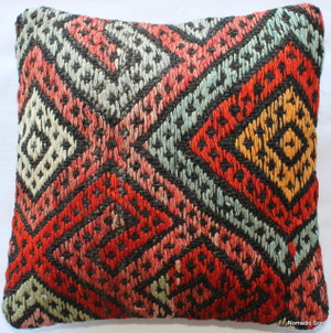 Tiny Kilim Cushion Cover #25