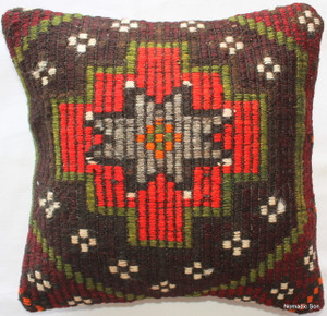 Kilim Cushion Cover (35*35cm) #12
