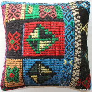 Vintage kilim cover - small #281