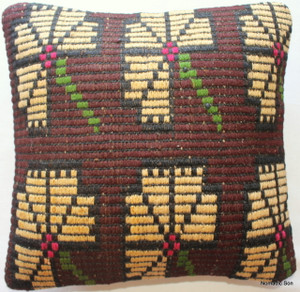 Kilim Cushion Cover (35*35cm) #44