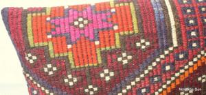 Vintage kilim cover rectangle (40*60cm) #KR91