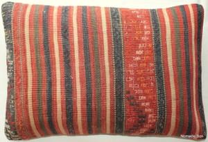 Vintage kilim cover rectangle (40*60cm) #KR102
