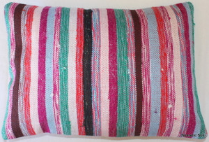 Vintage kilim cover rectangle (35*50cm) #TR27