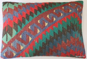 Vintage kilim cover rectangle (35*50cm) #TR31