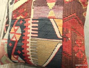 Vintage kilim cover - small (40*40cm) #487