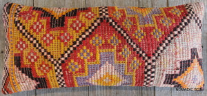 Vintage Kilim cover rectangle (30*70cm) #L3716