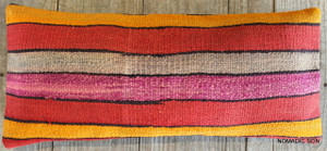 Vintage Kilim cover rectangle (30*70cm) #L3719