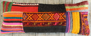 Vintage Kilim cover rectangle (25*70cm) #L3736