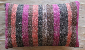 Vintage kilim cover - small rectangle (30*50cm) #SR101