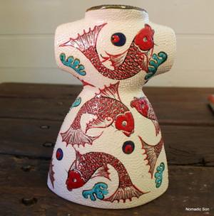 'Fish' ceramic kaftan
