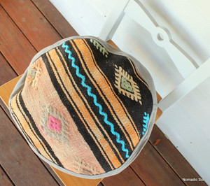 Seat Pad / Chair Cushion / Round Gusseted Cover #SC3