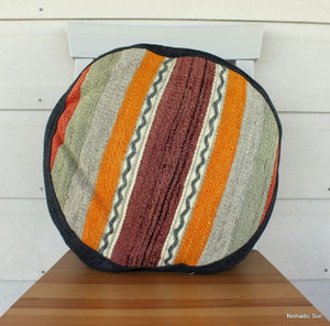 Seat Pad / Chair Cushion / Round Gusseted Cover #SC7
