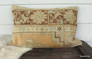 Vintage Carpet rectangle cover (40*60cm) #CA4