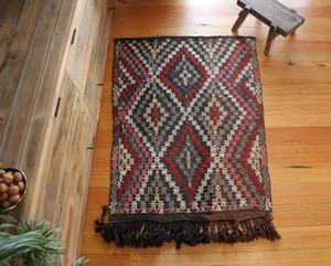 Adana Vintage Kilim (#L115) 82*116cm + tassels (127cm)