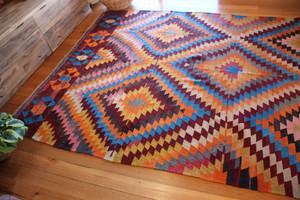 Oversized Vintage Tavas kilim (#L142) 212*305cm